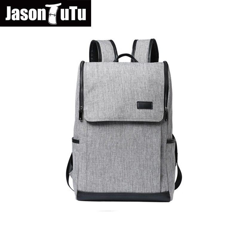 2018 mode tendances toile sac à dos sac à dos pour ordinateur portable pour homme gris école sac à dos nouveau produit promotio livraison gratuite B292