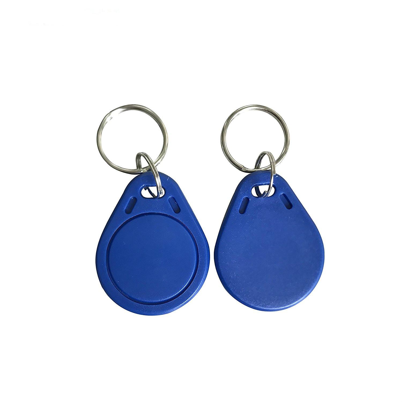 1000pcs ISO14443A RFID MF Classic 1K Keyfobs NFC Tag 13.56MHz access control key card token for home/office/apartment blue color hw v7 020 v2 23 ktag master version k tag hardware v6 070 v2 13 k tag 7 020 ecu programming tool use online no token dhl free