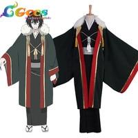 CGCOS Free Shipping Cosplay Costume COS Kakuriyo no Yadomeshi odanna Uniform Dress Party Halloween Christmas