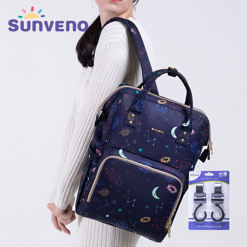 Sunveno Brand Waterproof Diaper Bag Large Nursing Maternity Nappy Bag Travel Backpack for Baby Mummy Stroller Bag Baby CareSunveno Brand Waterproof Diaper Bag Large Nursing Maternity Nappy Bag Travel Backpack for Baby Mummy Stroller Bag Baby Care