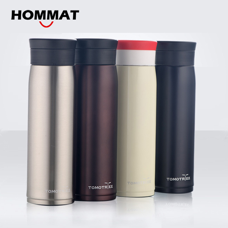 Bottle Steel Thermomug Mug 600ml Water Stainless Thermos For SpzMUV