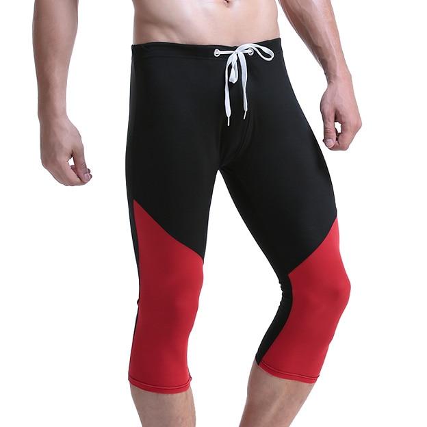 2018 Mens Shorts Summer Super Soft Fitness Tight Male Board Short Pant Boardshorts Beach Man Wear in Boxers from Underwear Sleepwears