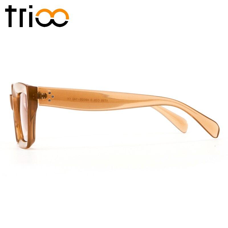 TRIOO բարձրորակ քառակուսի ակնոցներ - Հագուստի պարագաներ - Լուսանկար 3