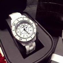 TOP Brand Роскошные часы женщины 2016 Новая Мода Кварцевые Часы Кристалл Алмазы AAA Керамические Часы Женщины Reloj mujer 2016