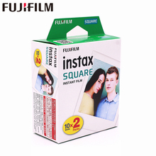 2018 Genuine Fujifilm Instax 20 Sheet SQUARE White Edge film Photo paper For SQ10 Hybrid share sp-3 SQ Camera