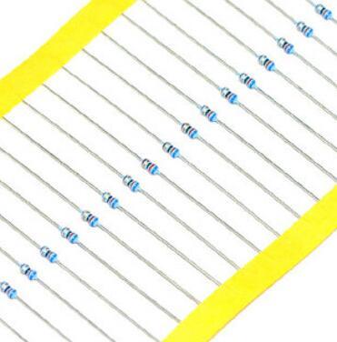 MF 1/6 Вт 1% на ленте 0,1-5000 R 0R 1R-10M 11-22 м металлический пленочный резистор x шт.