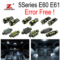 17pc X No Error For Bmw E60 E61 M5 525i 535i 545i 550i LED Interior Dome