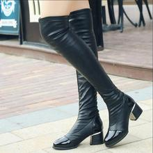 shoes women boots Knee-High mujer Botas high heels fashion Knight boots high quality sexy woman boots shoes plus size 40 F030