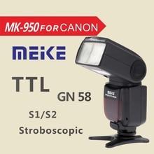 MEKE Meike MK 950 E-TTL TTL Speedlite Kamerablitz für Canon EOS 5D II 6D 7D 50D 60D 70D 550D 600D 650D 700D 580EX 430EX