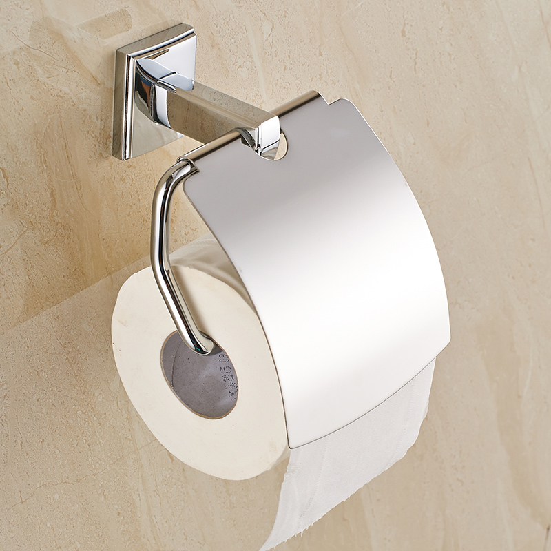new bathroom toilet paper holder with cover chrome brass roll tissue rack carved pattern base