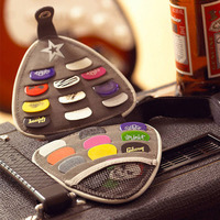 High Quality Guitar Picks Guitarra Pick Black Fabric Bag Guitarra Pick Cases Brown Primer Contains 20