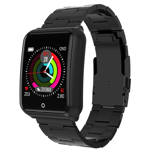 M39 SmartWatch Men Stainless Steel Strap Top Wristwatch Heart Rate Blood pressure sport Fitness tracker Bluetooth Smart Watch