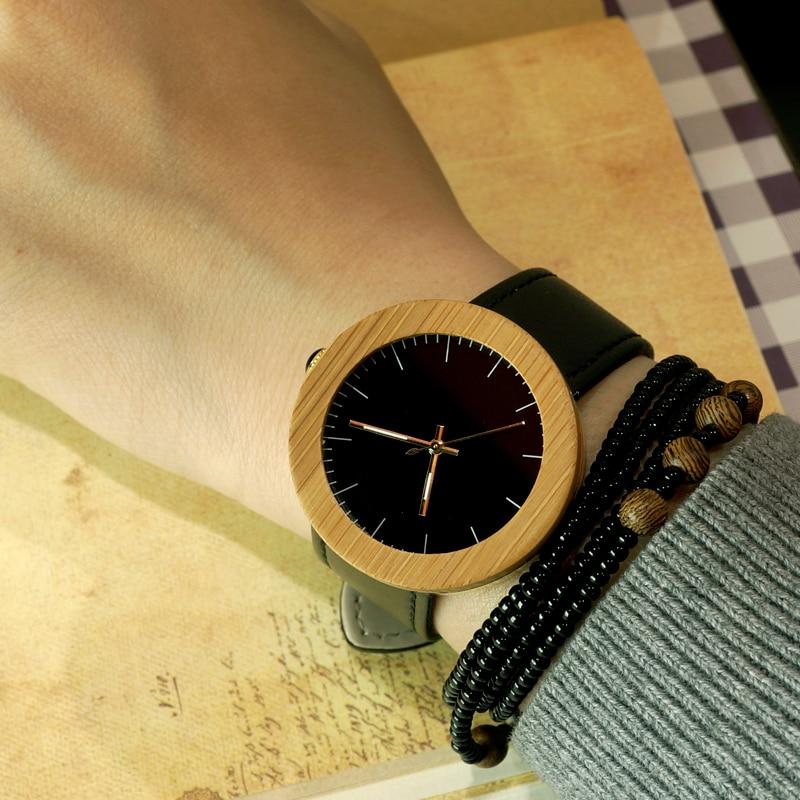2017 BOBO BIRD Top Brand Watches Women Wood Watch Quartz Genuine Leather Band Wristwatch relogio feminino B-J29 2017 new design bobo bird luxury brand women wood watches bamboo quartz wooden watch relogio feminino c d21