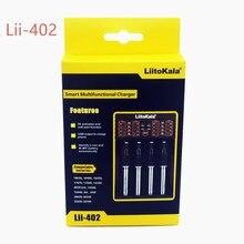 LiitoKala Lii-402 18650 Carregador de Bateria Para 26650 16340 RCR123 LiFePO4 14500 1.2 V Ni-MH Ni-Cd Bateria Rechareable LiitoKala char