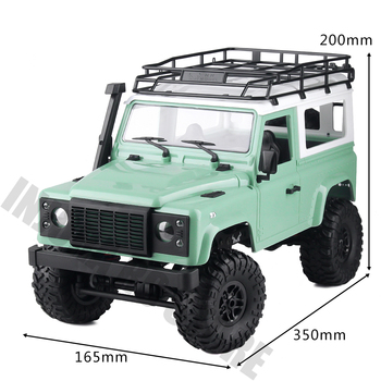 1/12 RC Rock Crawler D90 MN-90K MN-91K 2.4G 4WD MN Model Truck Toys Unassembled Kit Defender Pickup Car