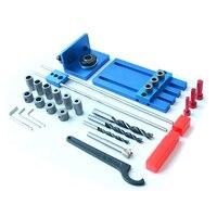 3 in 1 Loch Opener Punch Leuchte Werkzeuge Loch Sah Carpenter Kit Aluminium Legierung Holzbearbeitung Punch Locator-in Holzbearbeitungsmaschinen-Teile aus Werkzeug bei