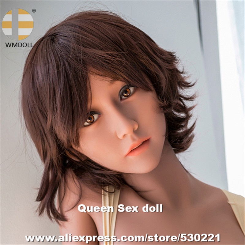 WMDOLL Top Quality Sex Love Doll Heads For Sexy Dolls Silicone Japanese Adult Doll Head With Oral Sex top quality oral sex doll head for japanese realistic dolls realdoll heads adult sex toys