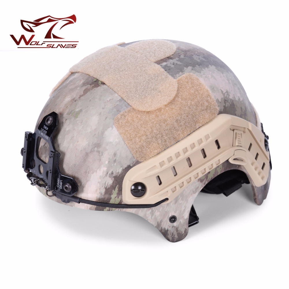 2017 Hunting Unisex IBH Action Special Version Army Tactical Helmets  Air-soft Paintball / CS Game Adjustable Helmet