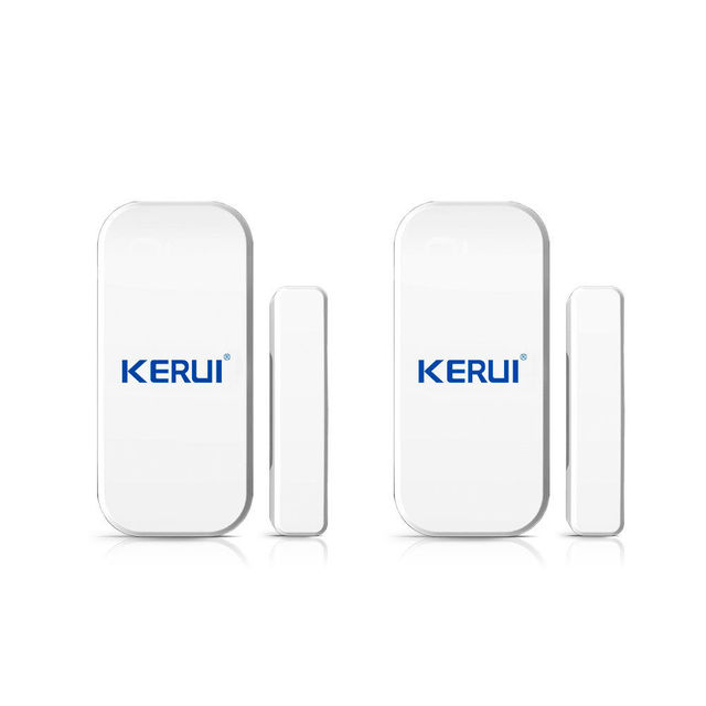 433MHz Wireless Window Door Magnet Sensor Detector For Home Wireless Alarm System