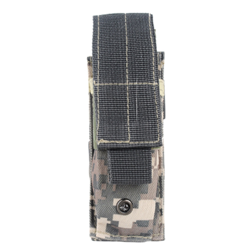 New Tactical Bag 14*6cm 600D Outdoor Hiking Molle Military Pack Key Mini Tools Magazine Holster Pouch Sport Bag