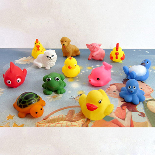 13Pcs Lovely Mixed Colorful Animals For Children