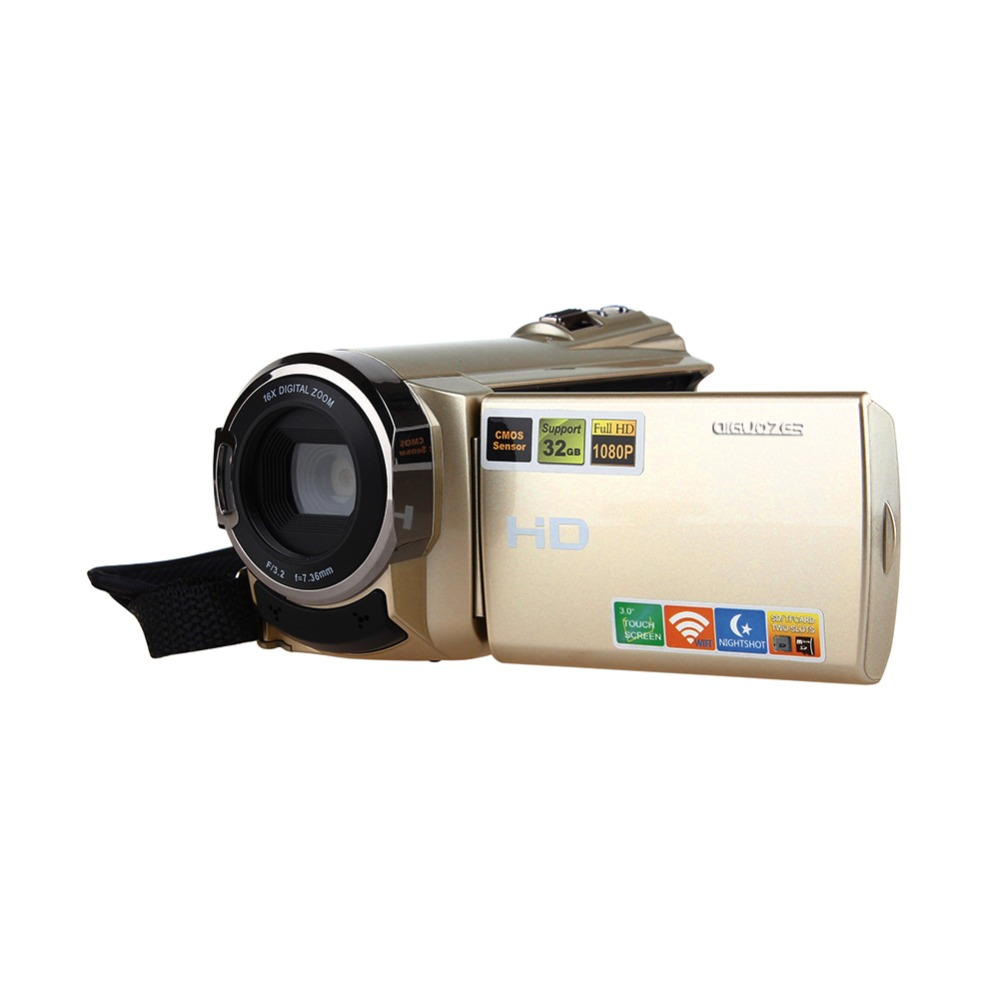 HDV-5052STR Portable Digital Video Camera Camcorder Full HD 1080P 20MP DV DVR 3TFT LCD 16X ZOOM IR Night Shot wifi photo Camera ordro hdv v12 3 0 lcd cmos sensor 1080p fhd digital camera dvr usb cam dv 16x zoom video recorder night vision camcorder