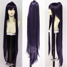 [COSME WIGS] Tohka Yatogami High Quality Straight Long Purple Full Lace Wigs Anime Date A Live Cosplay Wig Hair Free Shipping