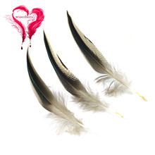 Wholesale 100Pcs Natural Rooster Feathers Good Quality Pheasant Plumes For DIY Wedding Carnival Jewelry Decoration Accessories