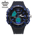 SMAEL 2017 New Product Sport Men Watch For Outdoor Movement Solid Quality Good 3ATM Waterproof Comfortable Texture 1367