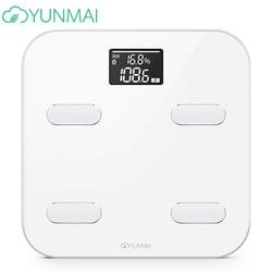 Hot Smart YUNMAI Premium m1302 waga podłogowa waga łazienka Bluetooth APP cyfrowy procent tłuszczu waga analityczna|health scale|smart scaleyunmai color -