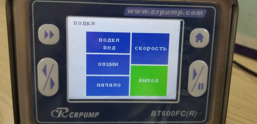 Russian version Peristaltic pump BT600FC6