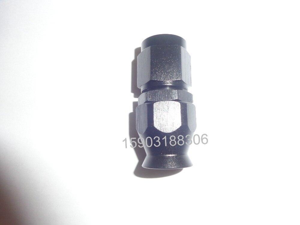 UN-4 AN4 PTFE Telfon Tubo End Raccordi Adattatore Per Auto Girevole Dritto Frizione Linee di Montaggio