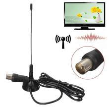 Высокое качество 80 км 1080P DVB-T ТВ HD ТВ антенна цифровая Freeview VHF UHF 5dBi комнатная антенна