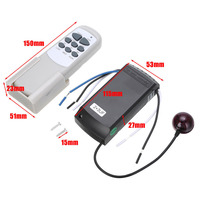 220 240v Home Controller Fan Remote Controller Lamp 220/240V Ceiling Fan Light Wireless Timing Digital Switch Control Universal Receiver (5)