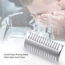 Razor Replacement Shaving-Tool Professional Safety Double-Edge Open-Comb Barber Male