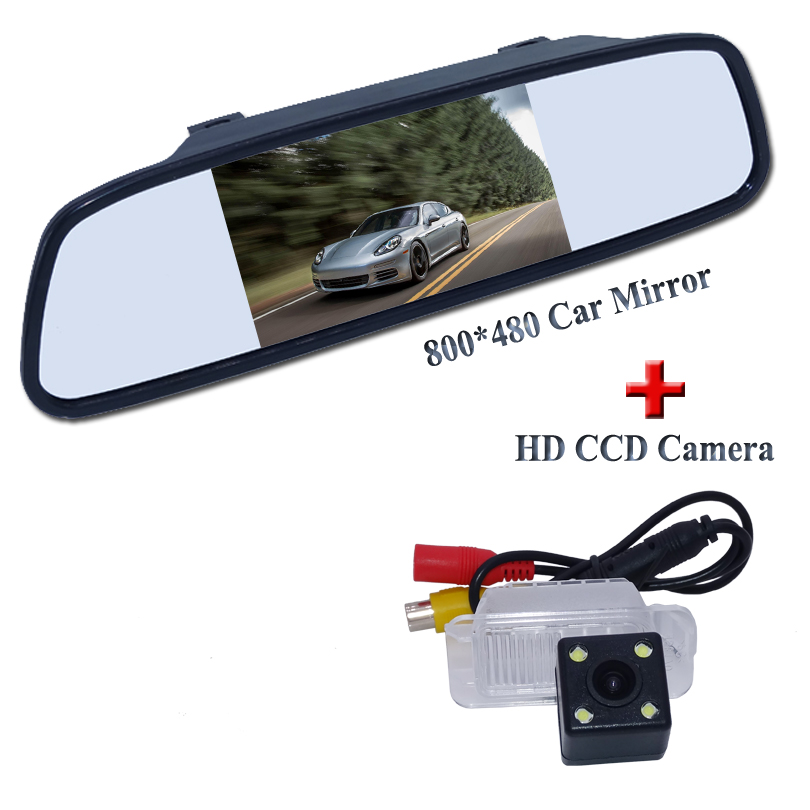 ღ ƹ ӝ ʒ ღ4 3 Inch Car Monitor Lcd Ccd Car Rear View Parking