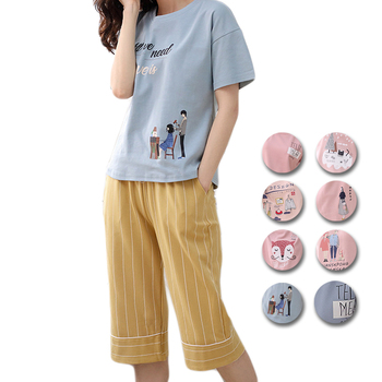 UNLIMON Cotton Pajamas For Women Pajamas Cute Sleepwear Sets Comfortable Pjs Pink Pretty Girls Summer Pyjama Sets pajamas