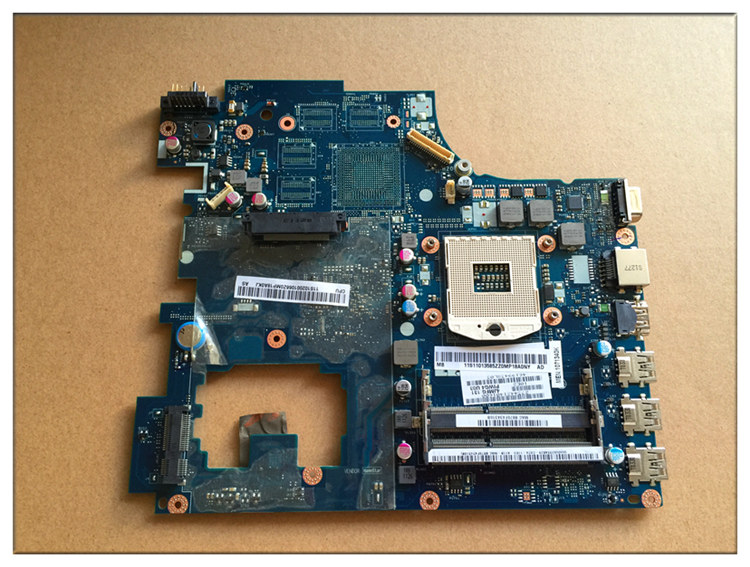 Free Shipping New PIWG4 LA-6758P REV:1A For Lenovo Y770 G770 Laptop Motherboard without on board video card free shipping new piwg4 la 6758p rev 1a mainboard for lenovo y770 g770 motherboard with amd 6650m graphic card