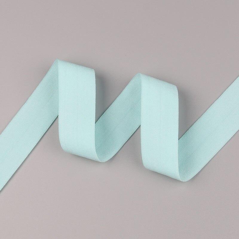 5 ярдов/Лот 20 мм ширина 34 цвета эластичная лента использование для diy аксессуары и одежда галстук лента для волос - Цвет: 08