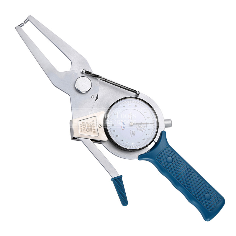 Outside Dial Caliper Gauges 0-20*60mm/0.01mm Metric Shockproof Carbide Points Micrometer Measuring Tools 0 20 mm manual welding seam gauge weld inspection caliper gauges