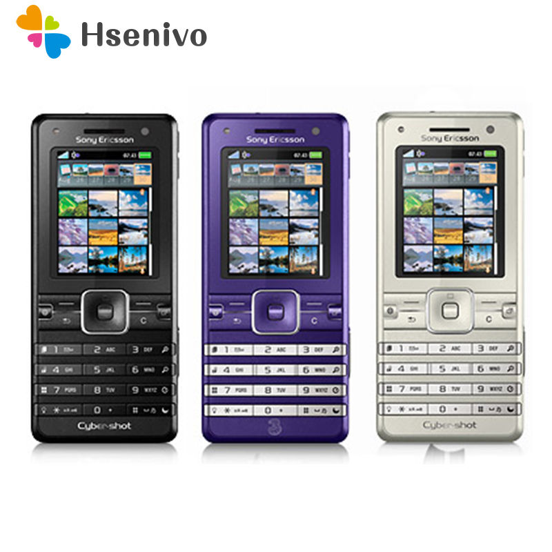 K770 100% Original Unlocked Sony Ericsson K770i Mobile Phone 3G Bluetooth 3.2 MP Camera FM Unlocked Cell Phone Free Shipping