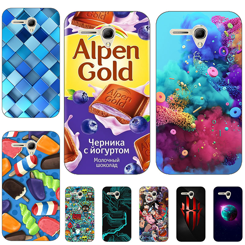 Silicon phone case <font><b>cover</b></font> For <font><b>Alcatel</b></font> <font><b>One</b></font> <font><b>Touch</b></font> <font><b>Pop</b></font> <font><b>3</b></font> 5025D 5025 <font><b>5.5</b></font>