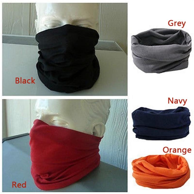 Fashion Neck Warmer Scarf Neckerchief Headscarf Cycling Sport Kerchief Face Mask Headwear LXH