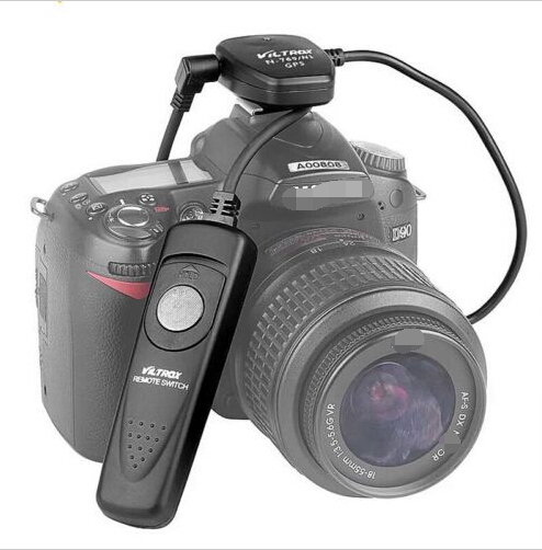 ФОТО JYC Viltrox N-769 N1 GPS Receiver+Shutter Release for Nikon D700 D300 D300S D200 D3X D3S D800 D800E