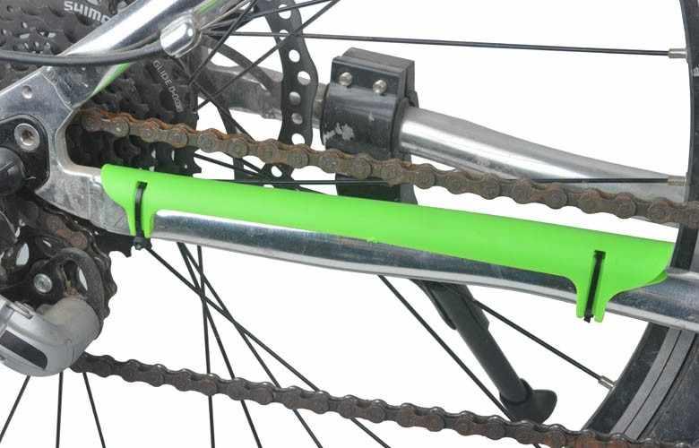 2ชิ้น/ล็อตMTBจักรยานเสือภูเขาถนนจักรยานโซ่คุ้มครองโล่พลาสติกป้องกันChainwheelชิ้นส่วนกรอบป้องกัน