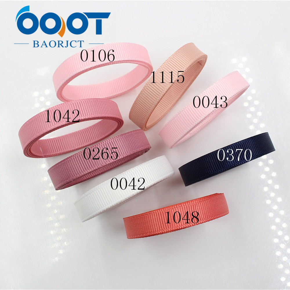 Ooot baorjct 1711091 10 мм одноцветное Цвет Ленты Термальность передачи печатных Grosgrain Свадебные Аксессуары Сделай Сам материал ручной работы