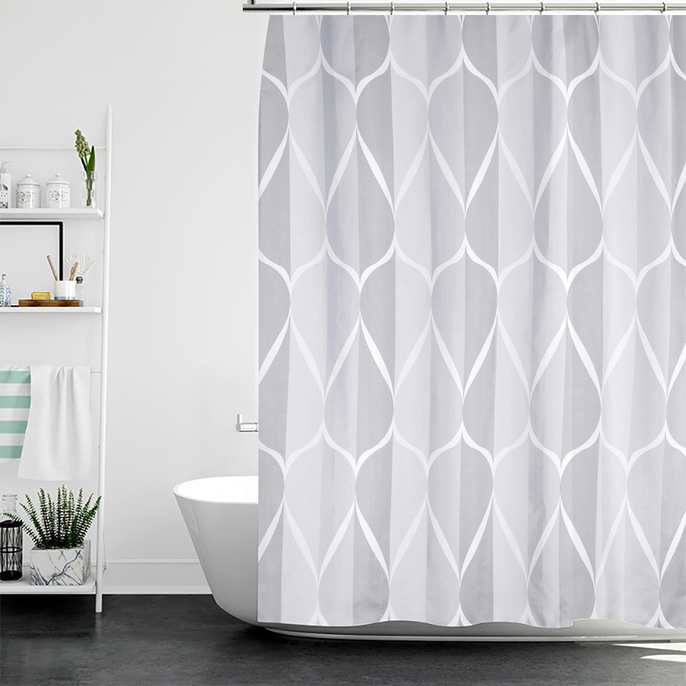 Us 9 77 39 Off Urijk Waterproof Shower Curtains For Bathroom Home Decor Polyester Fabric Geometric Pattern In