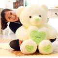 60 см Kawaii Teddy Bear Плюшевые Игрушки Лифт Размер Плюшевый Мишка кукла 3 Цвета 100% PP Хлопок Мягкие Плюшевые Подушки Подарок На День Рождения