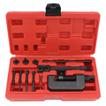 Professional Removal Motorcycle Chain Tool, Chain Breaker Riveting Tool Kit Cutter ATV,Bike,Motorcycle,Cam Drive