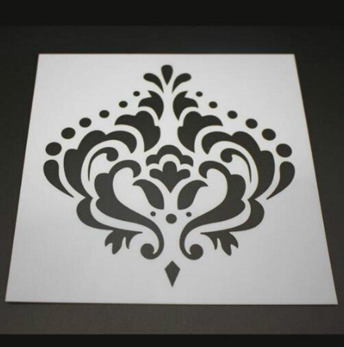Flower Pattern Cake Stencil Template Fondant Tools Cake ...